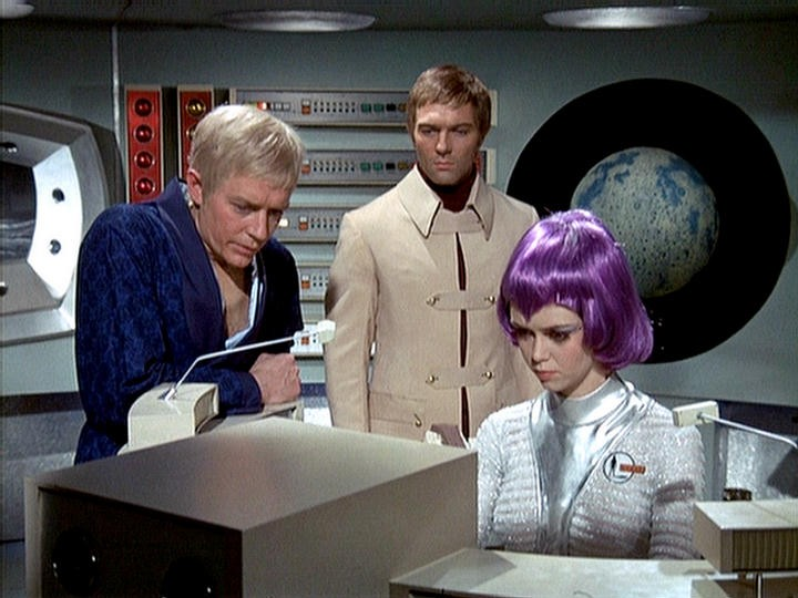 Ed Straker, Paul Foster, Gay Ellis
