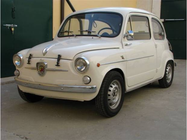 Fiat Abarth 850 TC By 1961