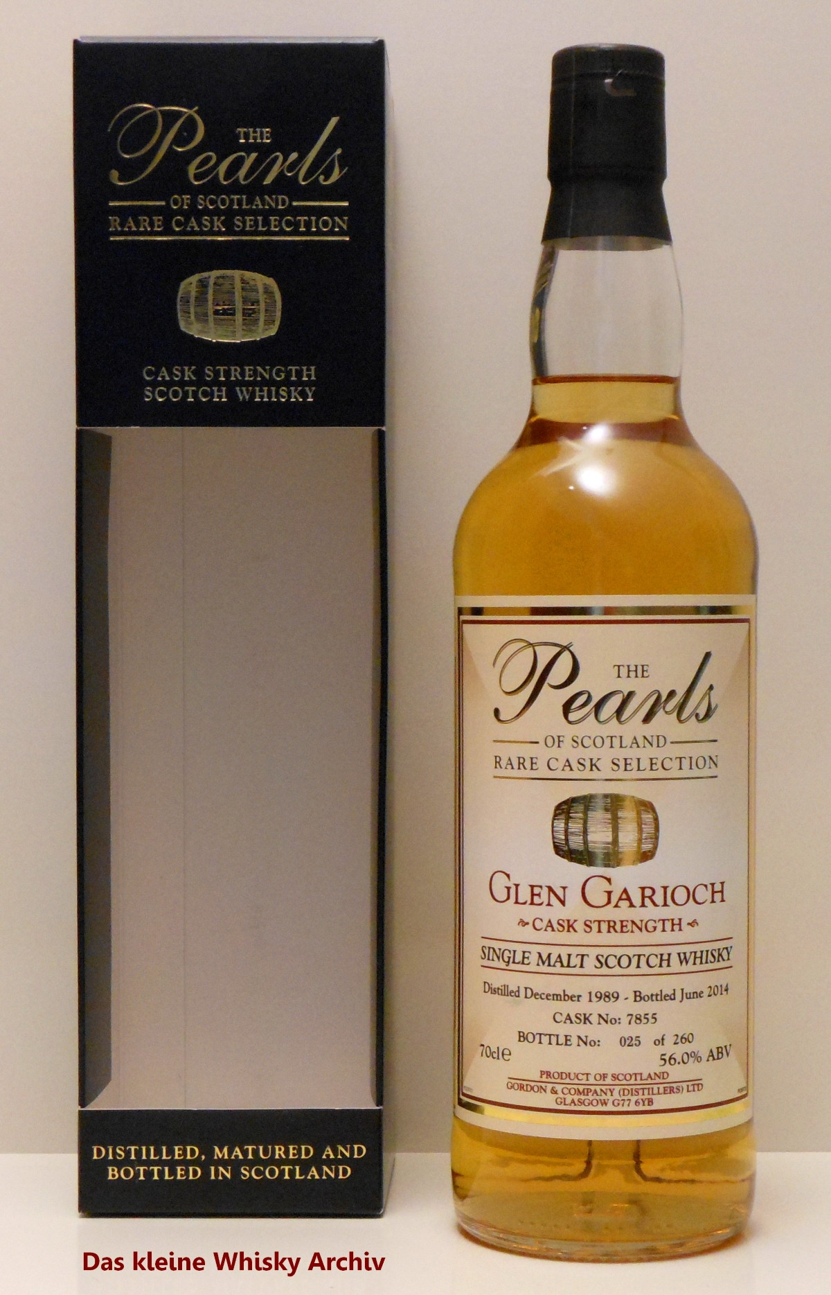 Glen Garioch 1989 56%vol. 0,7l