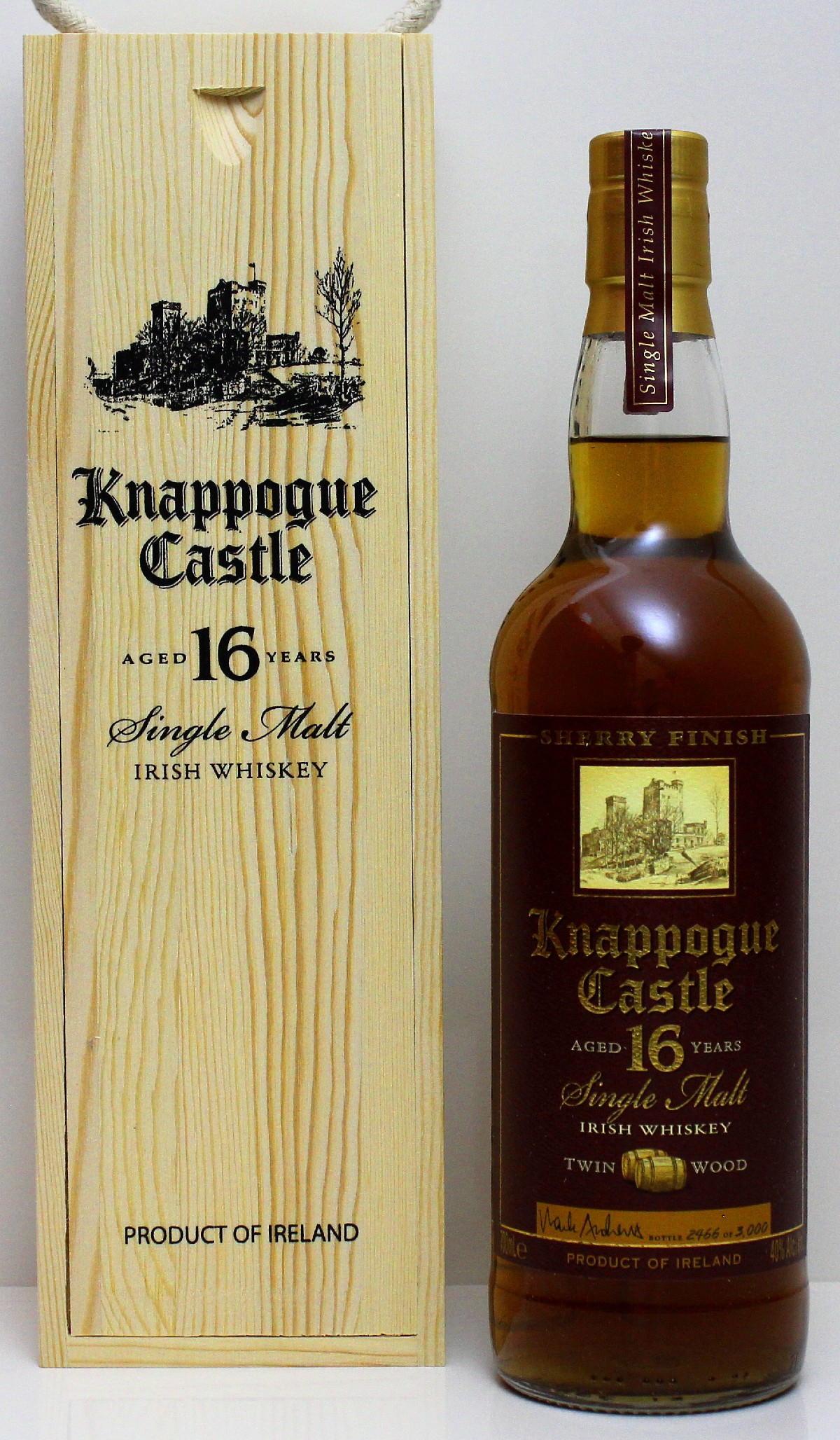 Knappogue Castle 16 Jahre 40%vol. 0,700Liter
