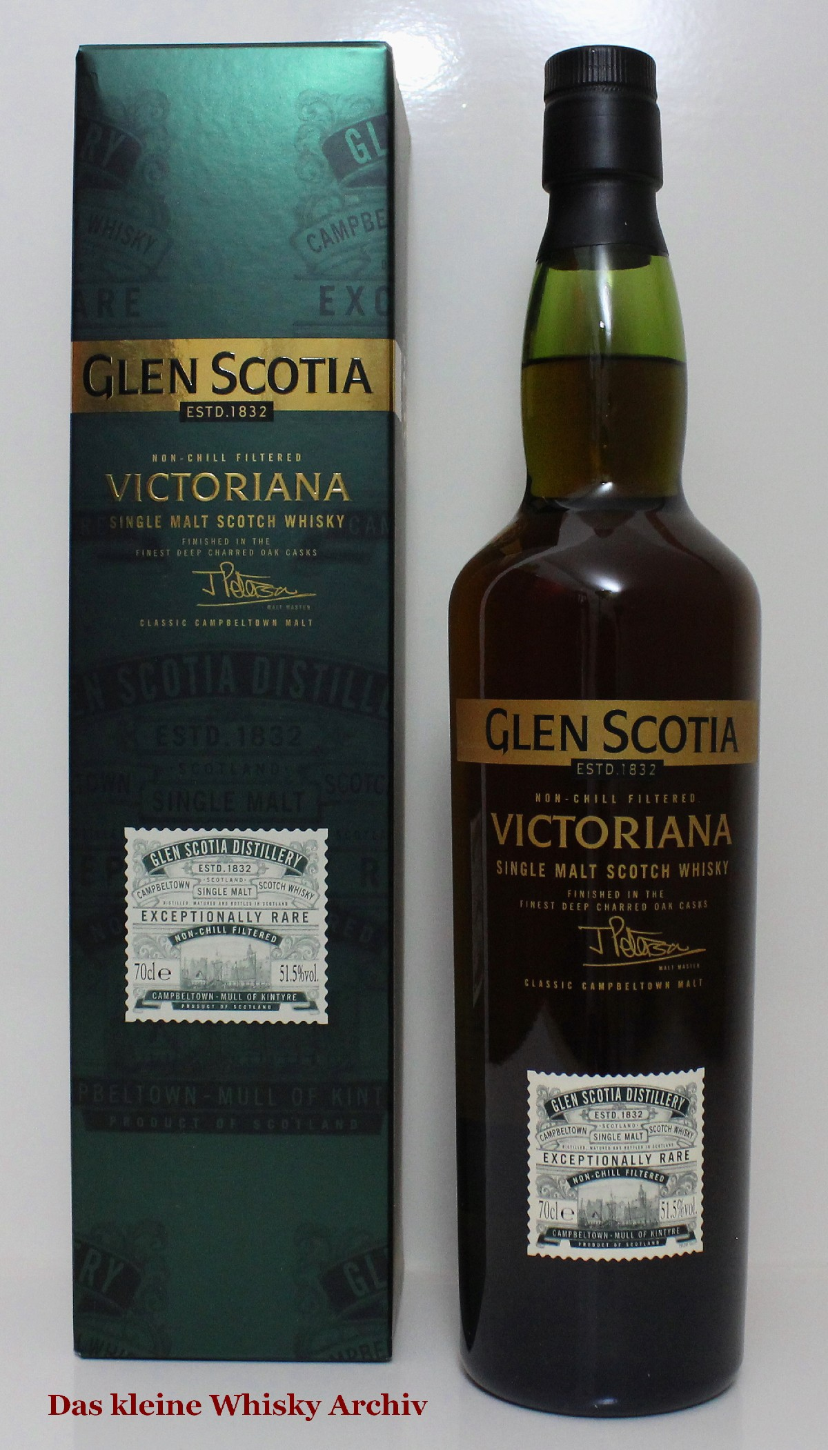 Glen Scotia Victoriana 51,5%vol. 0,7l