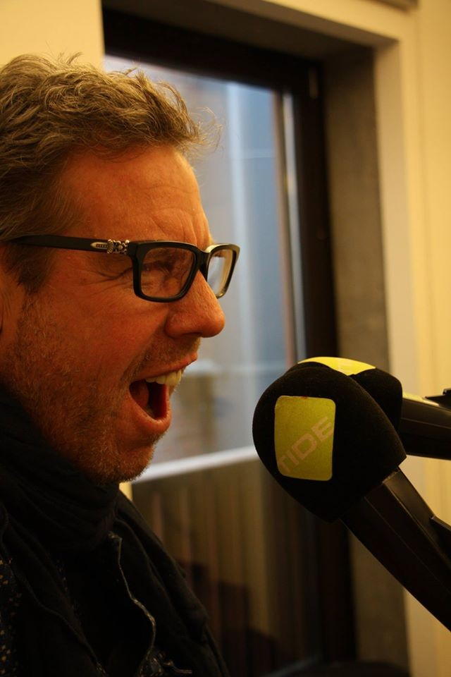 Ed Romanoff at Tide Radio, Hamburg, 2015
