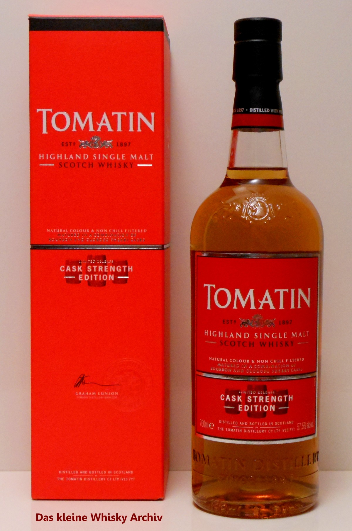 Tomatin Cask Strength Edition Batch 1