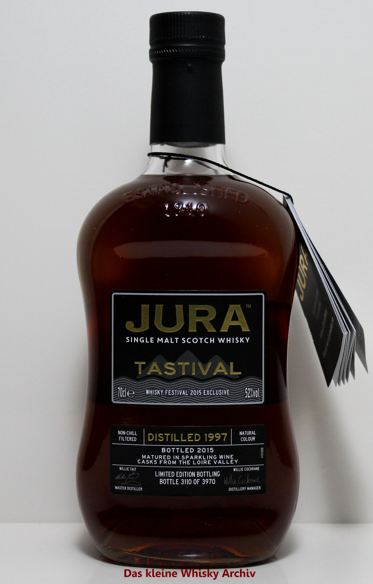 Isle of Jura Tastival 2015 52%vol. 0,7l