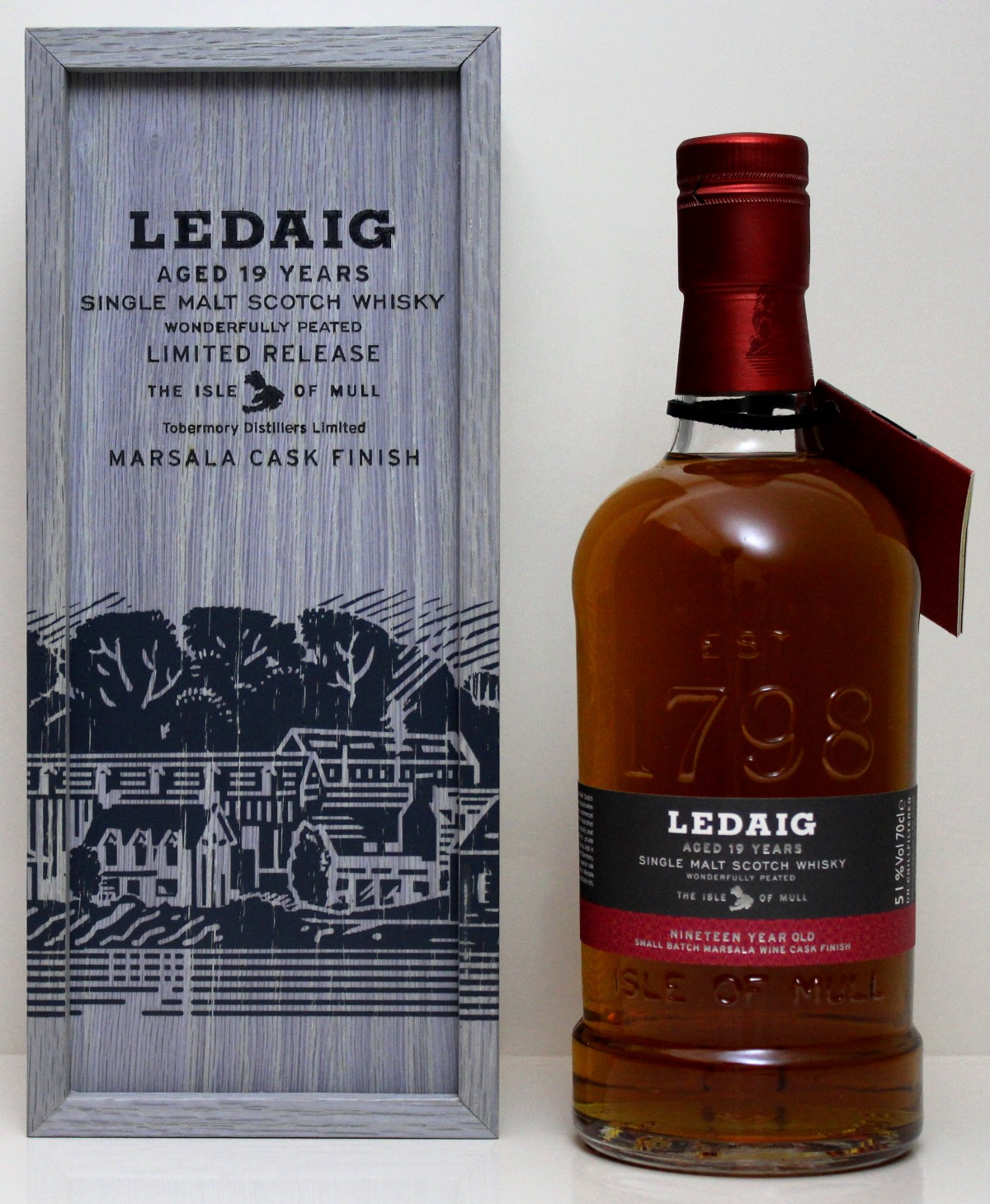 Ledaig 19 Jajre (Marsal Cask Finish) 51%vol.