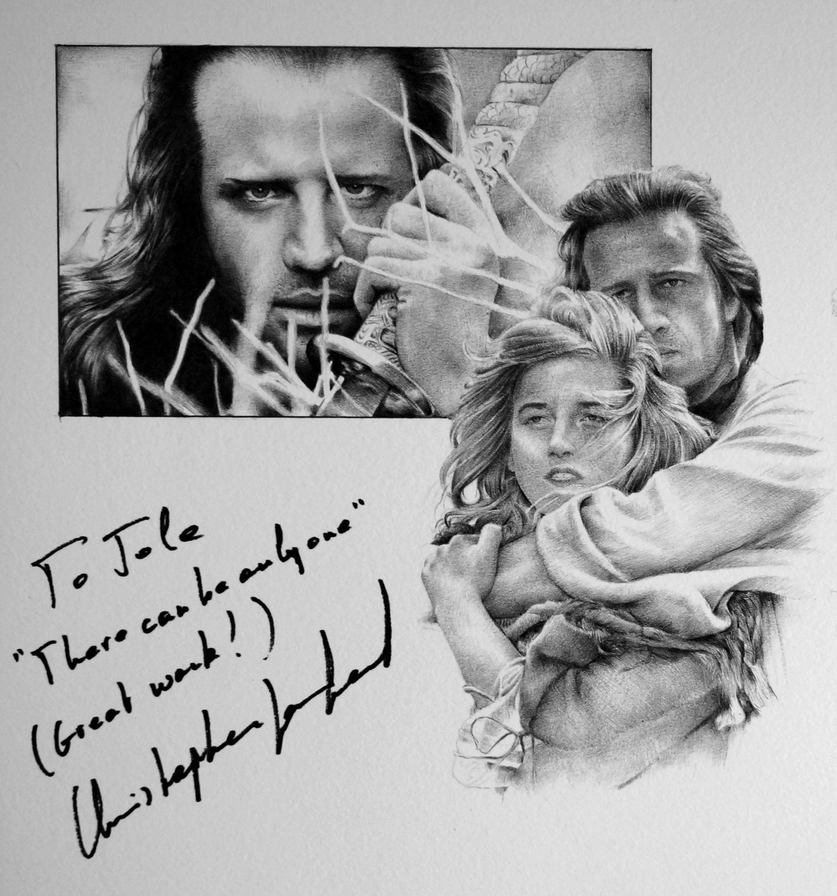 Christopher Lambert signedportraits