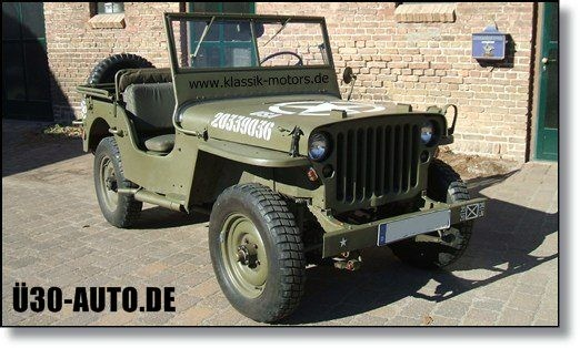 Jeep Willys Restauration Ü30-Auto.de