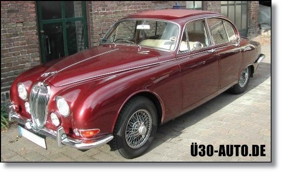 Oldtimer Restauration Jaguar S Type Ü30-Auto.de