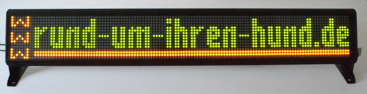 LED-Laufschrift-Display