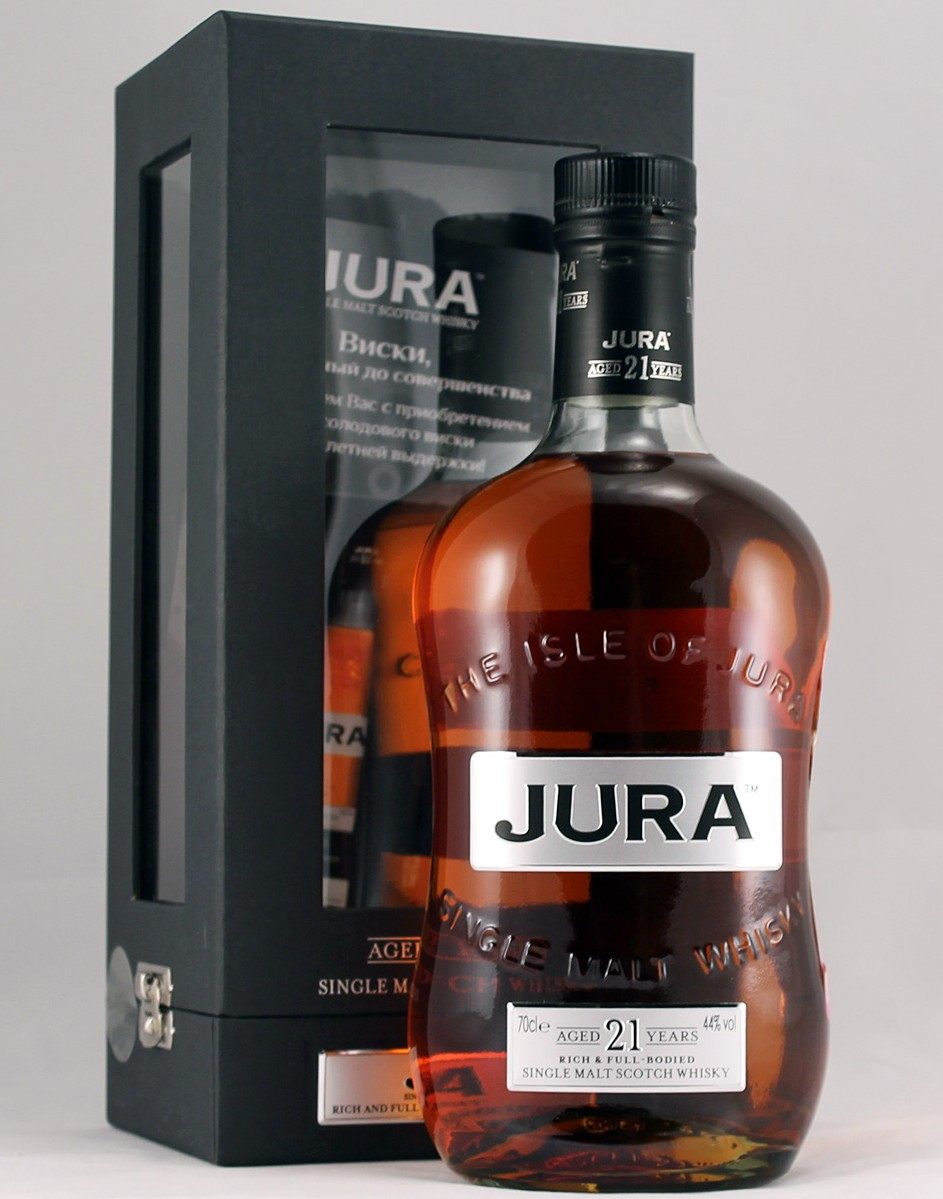 Isle of Jura 21 Jahre (Sherry) 44%Vol, 0,7l