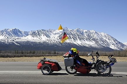 Liegerad / Recumbent-Tricycle - Tour